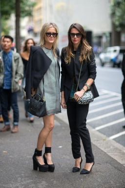 Mercedes Benz Fashion Week Street Style continues to deliver