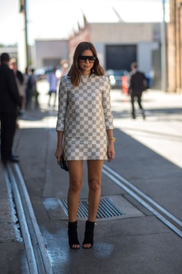 Australian MBFW continues to rock street style chic