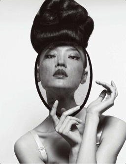 Back to the Future (haute couture, Dior, and black and white)